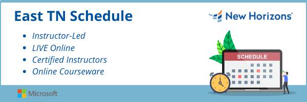 _Schedule of East TN